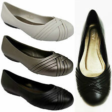 New Womens Ladies Ballet Flats Ballerina Slippers Casual Slip On Comfort Shoes