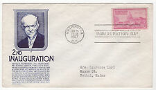 DWIGHT D. EISENHOWER 1957 2nd Inauguration Day Cover C Stephen Anderson Cachet