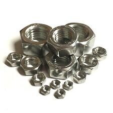 M4,M5,M6,M8,M10,M12 A2 Stainless Steel Left Hand Thread Hexagon Full Nuts - Hex
