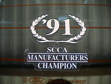 1991 SALEEN SCCA MANUFACTURERS CHAMPIONSHIP DECAL NOS FORD TRUCK MUSTANG GT 302