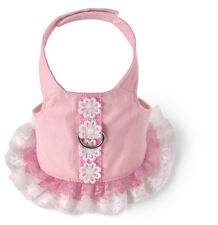 Harness Dog or Cat -Pink/Lace Harness Dress Super Cute and Functional!!