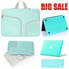"US STOCK Rubberized Hard Case Laptop Sleeve Cover For Mac MacBook Air 13"" 3in1"