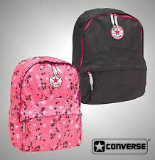Kids Girls Branded Converse Casual Rucksack School Backpack Bag 29x39x13cm