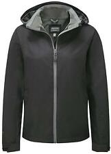 Craghoppers Women's Expert Active Coat Water Repellent Front Zip Hooded Jacket