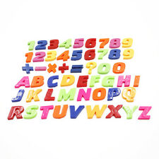 Set Of 26 Teaching Magnetic Letters & Numbers Fridge Magnets Alphabet Good