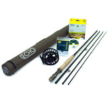 """NEW - Echo Carbon XL 4wt 8'0"""" Fly Rod Outfit - FREE SHIPPING!"""