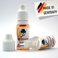 E-Liquid (10ml) - 0/9/18mg Nicotine - 40+ Flavours - E-Juice made in Germany