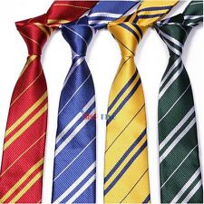 Harry potter Tie HOGWARTS HOUSE Necktie Halloween Costume Party Accessory Gift