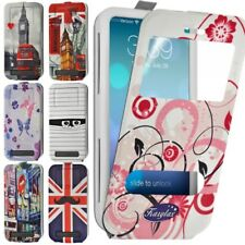Etui Coque Silicone S-View Motif Universel XS pour Ice Phone Forever