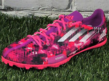 WOMENS Adidas Adizero Ambition 2 Lightweight Track Spikes Pink/Purple