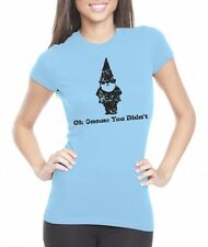 Women's Oh Gnome You Didn't T Shirt Funny Quote Tee For Girls