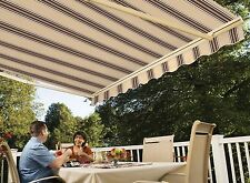 20' SunSetter Motorized Awning in Acrylic Fabric by SunSetter Awnings