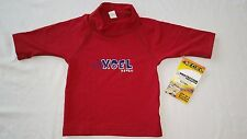 NEW Toddler Boys Swim Shirt UV 50+ Sun Protection RED Size 1T 2T 3T 4T XCEL