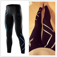 SPORTS 2XU women lady Compression Thermal Running GYM Tights pants