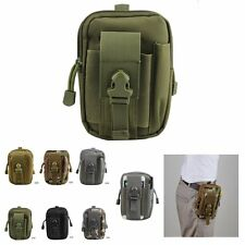 Military Waist Fanny Pack Bum Belt Bag Travel School Phone Pouch Sport Hip Purse