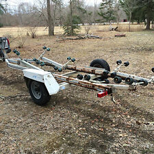 Boat Trailer with Rollers Boats to 22 Feet Heavy Duty Full Size Tires