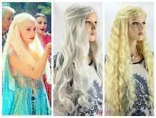 The song of ice and fire Dany Liz, gayle Ann silver & gold cos wig