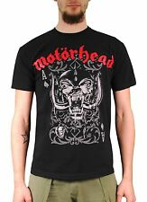 Motorhead Playing Card T-shirt 100% Official Merchandise Lemmy Warpig Metal Rock