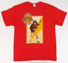 AC/DC T-shirt HIGH VOLTAGE Album Cover Image Tee Adult S,M,L,XL,2XL Red New