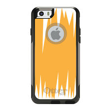 OtterBox Commuter for iPhone 5S SE 6 6S 7 Plus Orange White Spikes