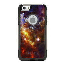OtterBox Commuter for iPhone 5S SE 6 6S 7 Plus Red Yellow Blue Rosette Nebula