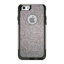 OtterBox Commuter for iPhone 5 5S SE 6 6S Plus Grey Black Paisley