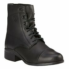 New Ariat Scout Ladies Lace Paddock Boots- Black- Various Sizes