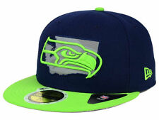 Official NFL Seattle Seahawks State Flective Redux New Era 59FIFTY FItted Hat