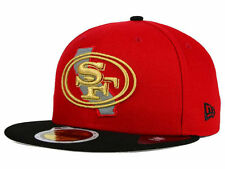 Official San Francisco 49ers New Era 59FIFTY Hat NFL State Flective Redux