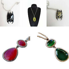 Witches of East End Wendy Ingrid Crystal Batman Mask Pendants Cosplay Necklaces