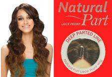 MIKAELA BY MODEL MODEL NATURAL PART LACE FRONT WIG SYNTHETIC HAIR LONG WAVY
