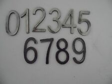 STEEL MODERN STYLE ADDRESS NUMBERS FOR HOUSE HOME