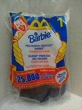 McDonalds Happy Meal Toy Barbie Collection 2000 #1 Millennium Princess NIP