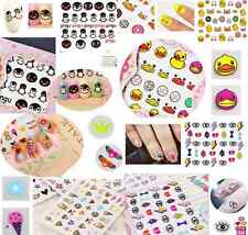 3D DIY Mixed Design Decal Stickers Nail Art Acrylic Manicure Tips Decoration HS1