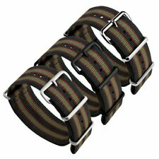 NATO Vintage Bond® Stripe Nylon G10 NATO Military Watch Strap 18, 20, 22, 24mm