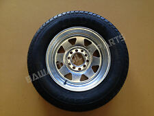 "GALVANISED 13"" MULTI-FIT (HOLDEN HT/FORD) RIM  WITH 155 LT TYRE ! Trailer Parts"
