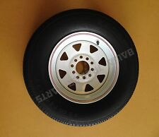 "SUNRAYSIA 13"" MULTI-FIT (HOLDEN HT/FORD) RIM  WITH 175 LT TYRE ! Trailer Parts"