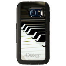 CUSTOM OtterBox Defender Case for Galaxy S5 S6 S7 Piano Keys Keyboard