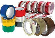 Colour Caution Fragile Packing Tape Sellotape Packaging Brown Tape 48MM x 66M