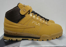 LAST PAIRS FILA F-13 WEATHER TECH BOOTS SHOES MENS 10.5 WHEAT BROWN