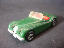 1984 Matchbox Convertible Jaguar XK120 Diecast Green Toy Car England