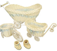 Baby Hampers and Favour Baskets! In 4 Sizes / Styles! Baby Gifts Shower