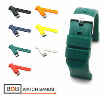 Silicone Watch Band/Strap for Breitling, 18, 20, 22, 24 mm, 7 colors, new!