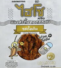 Live Crickets leaping chirping insect Fried Snack Crispy Good Flavor Natural