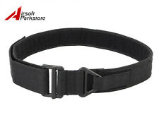 Tactical CQB Rigger Rescue Nylon Duty Belt Military Emergency Survival Black