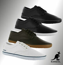 Mens Branded Kangol Lace Up Kula Vamp Trainers Shoes Footwear Size 7 8 9 10 11
