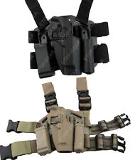 Tactical Right Leg Thigh Holster w/ Magazine Torch Pouch Beretta 92 96 M9