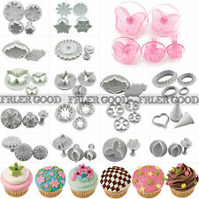 Christmas Fondant Cake Plunger Cutter Decorating Tools Craft Candy Cupcake Molds