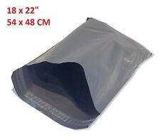 "18 x 22"" Mailing Bag STRONG LARGE GREY POSTAL MAILING Packing BAGS 54 x 45CM"