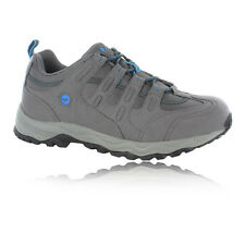 Hi-Tec Quadra Mens Grey Trail Running Sports Shoes Trainers Sneakers